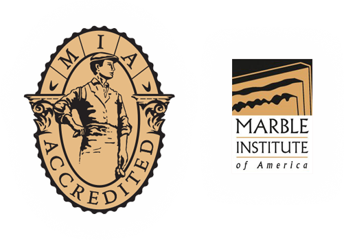 Accredited by the marble institute of america the mia accreditation seal signifies that picasso tile stonework ppazfo